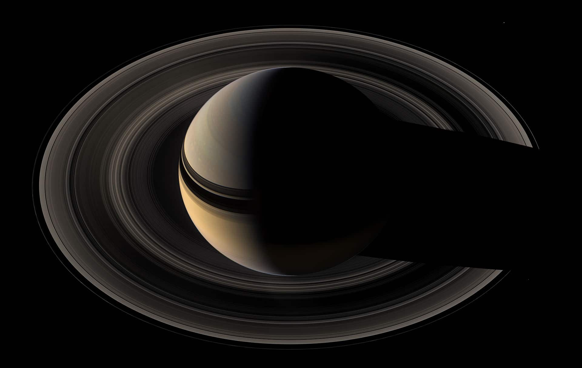 Las lunas pastoras y los ondulados anillos de Saturno