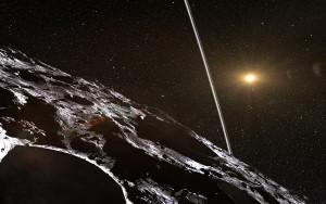 Cariclo, un asteroide en nuestro Sistema Solar con dos anillos.
