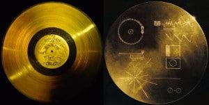 Los discos de oro de las Sondas Voyager