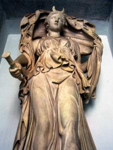 La diosa Luna