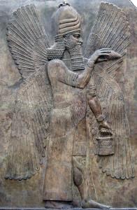 Recreación de Marduk, el Rey de los dioses babilonio