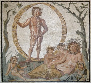 Mosaico de Urano y Gaia