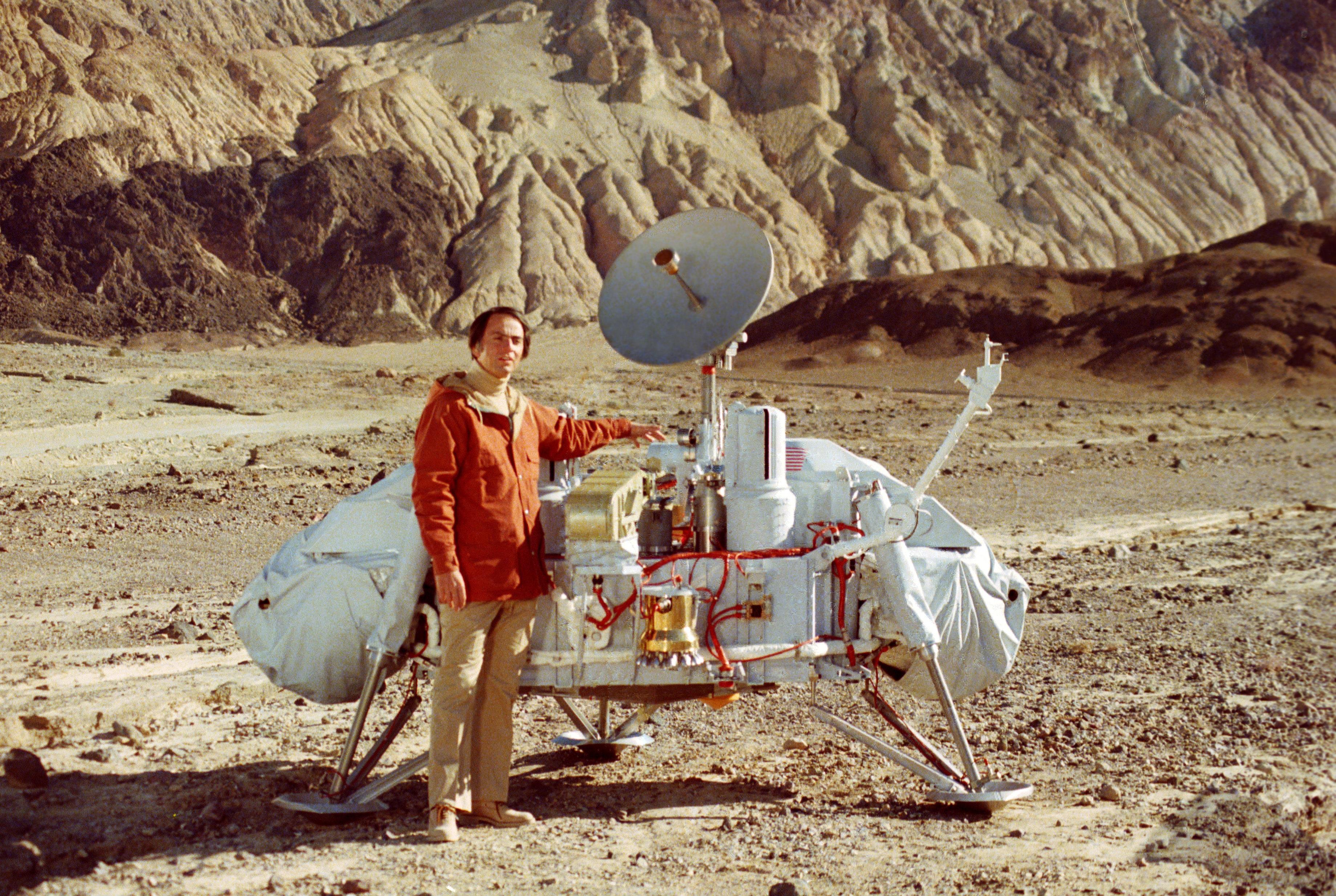 La huella de Carl Sagan