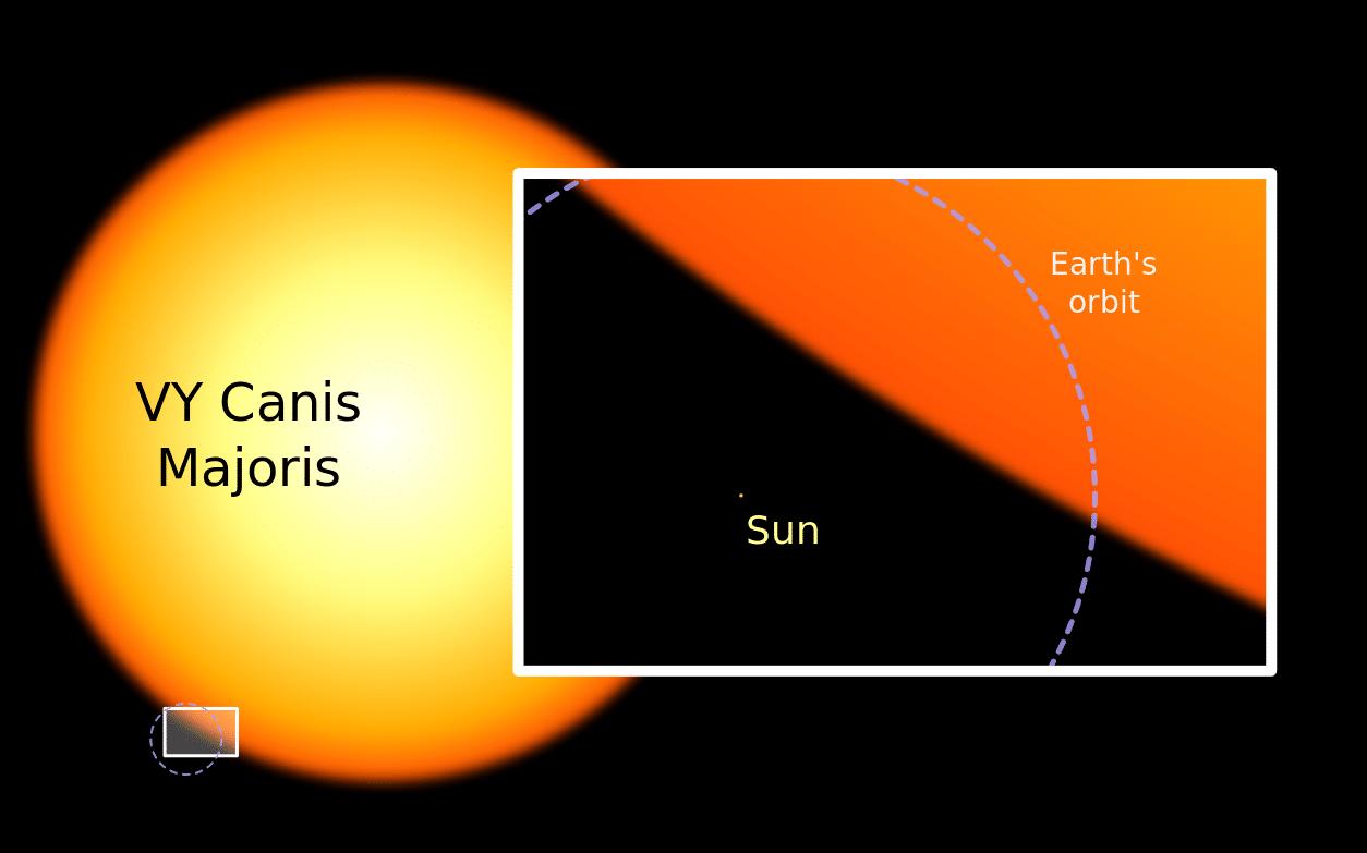 VY Canis Majoris El Gigante del Universo - REVISTA PROWARE