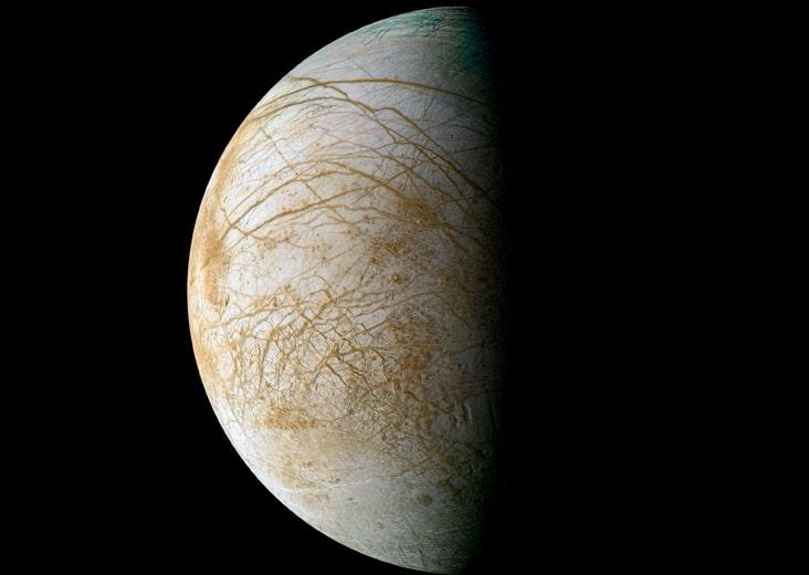 Europa, la intrigante luna de Júpiter
