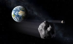 Concepto artístico de un objeto cercano a la Tierra. Crédito: NASA