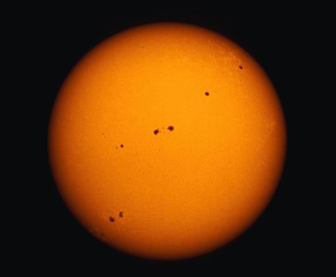 Dos semanas sin manchas solares en el Sol