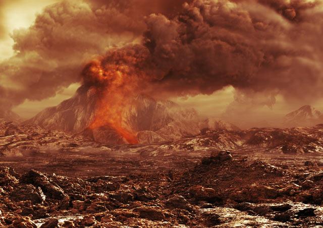 La abundancia de metano atmosférico podría ser una señal de vida