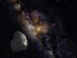 Recreación artística de un objeto del Cinturón de Kuiper