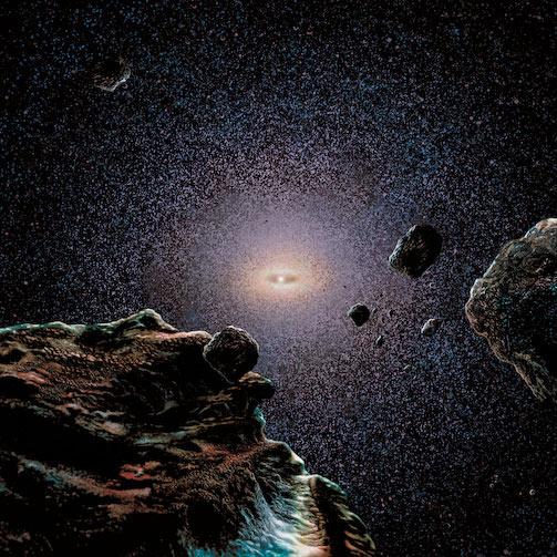 Hay miles de cometas allí afuera
