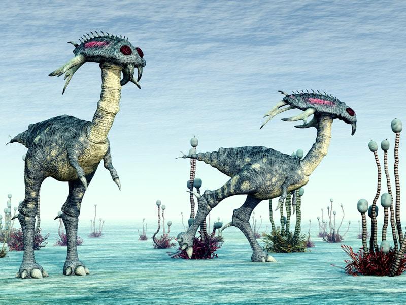 Resultado de imagen de Extrañas formas de vida extraterrestre