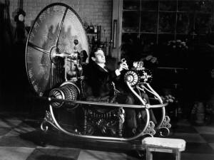 Una máquina del tiempo no tendría este aspecto. Sería como una nave espacial más.