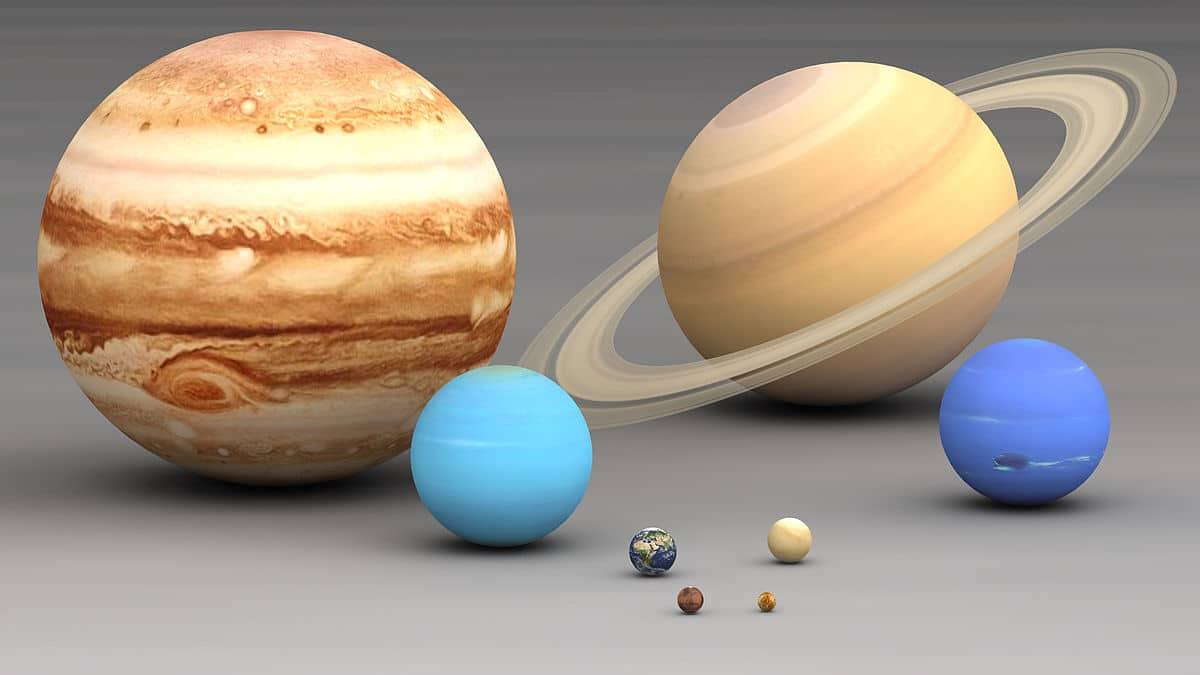 El Sistema Solar es normal según lo visto en exoplanetas
