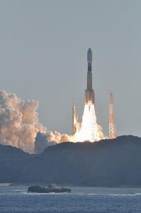 Despegue de la nave HTV-2 (precursora de HTV-5). Crédito: Naritama (NARITA Masahiro)