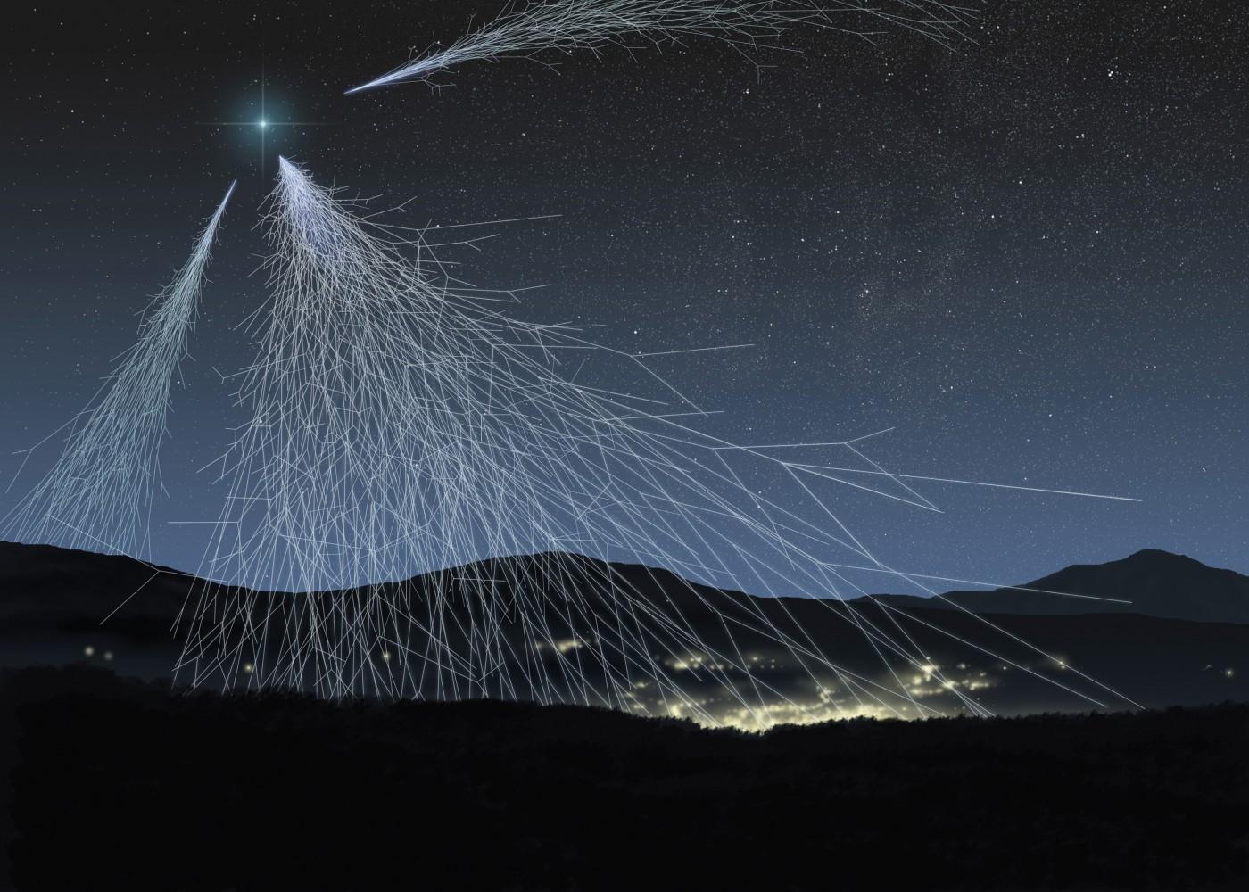 Los rayos cósmicos