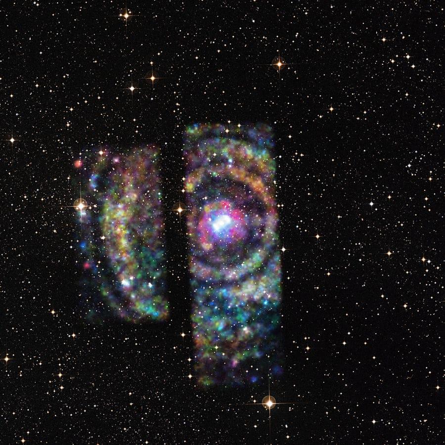 Resultado de imagen de Rayos gamma emitidos por una estrella de neutrones