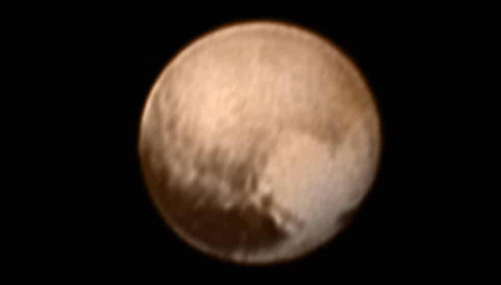 New Horizons se acerca a Plutón