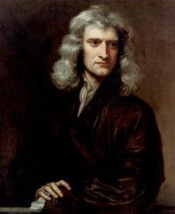 Sir Isaac Newton. Ese señor que, al parecer, ya allá por el siglo XVII, decidió convertirse en el primer sujeto en ocultar información. No tenía nada mejor que hacer, al parecer (según los conspiracionistas).