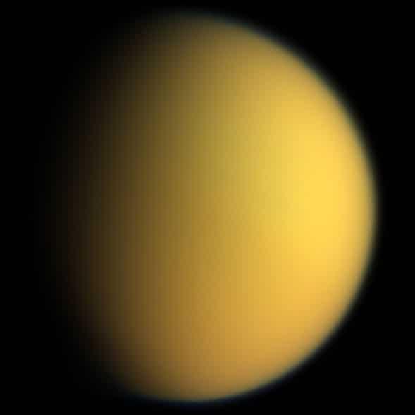 Titán, la esperanza de la vida