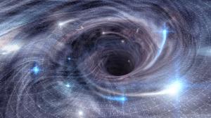 Si caes en un agujero negro, no hay marcha atrás. Crédito: Science Photo Library