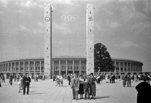Imagen del Estadio Olímpico de Berlín en 1936. Crédito:  Josef Jindřich Šechtl