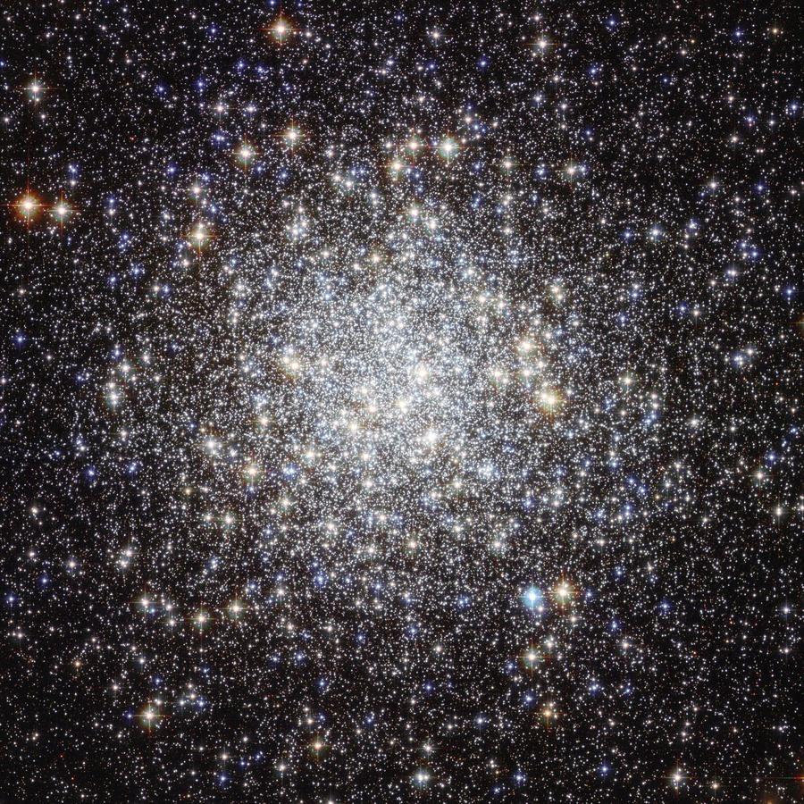 Los objetos Messier: M9, cúmulo globular