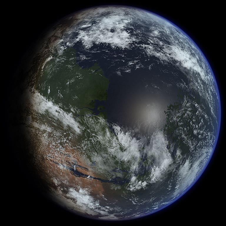 Un grupo de investigadores explica cómo terraformar Marte con aerogel de sílice.