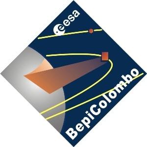 Logo de la misión BepiColombo. Crédito: ESA