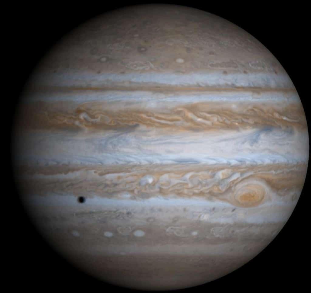 Júpiter visto por la sonda Cassini. Crédito: NASA/Johns Hopkins University Applied Physics Laboratory/Southwest Research Institute - National Aeronautics and Space Administration