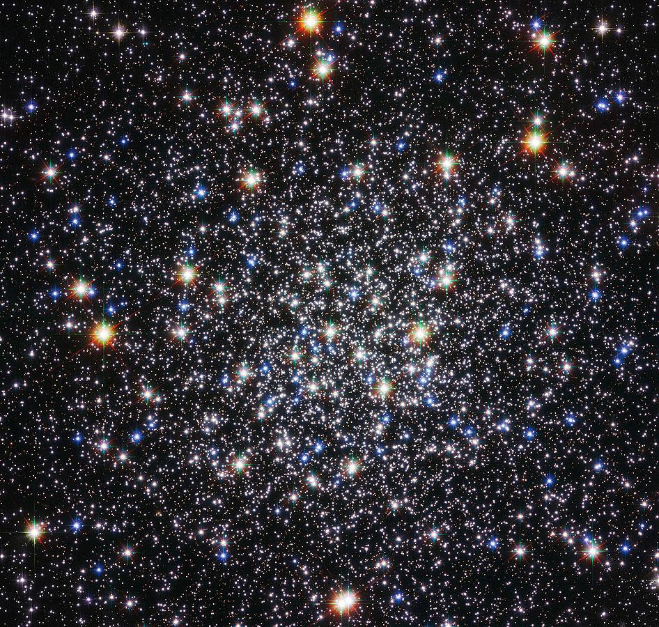 Los objetos Messier: M12, cúmulo globular