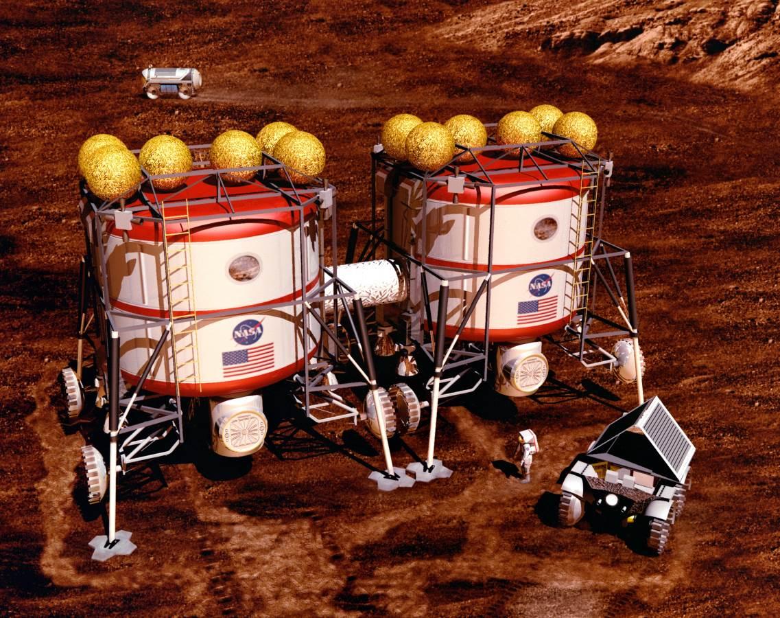 Los cultivos en Marte tendrán que estar protegidos