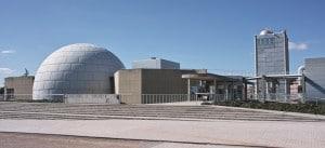 Imagen del Planetario de Madrid. Crédito: Usuario FDV de Wikipedia.