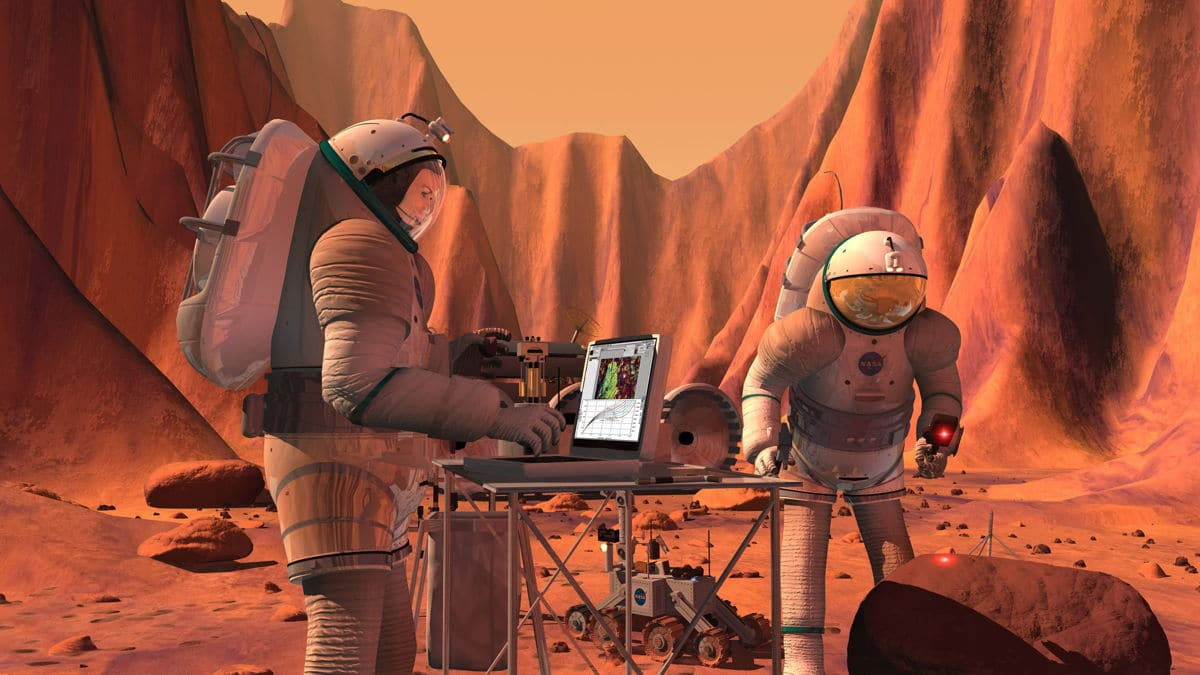 Los desafíos para enviar una tripulación a Marte