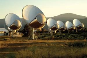 El Allen Array Telescope, en California (Estados Unidos). Crédito: SETI Institute