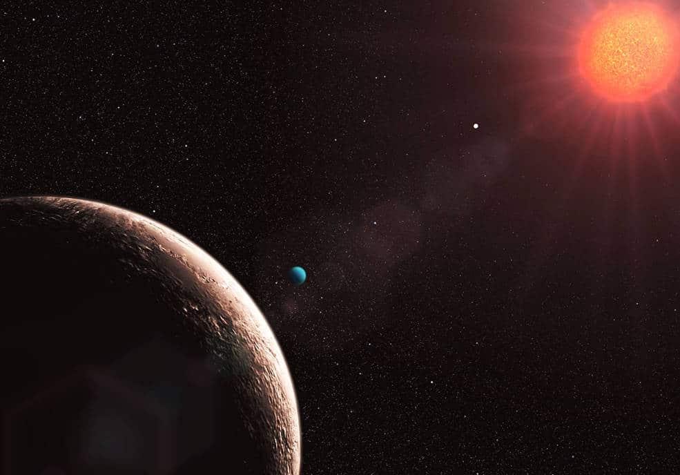 Las supertierras con una atmósfera fina, que estén protegidas por un planeta como Júpiter, podrían tener una buena oportunidad para desarrollar vida.