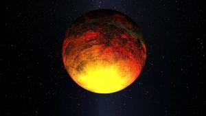 Recreación artística de Kepler-10b. Crédito: NASA/Kepler Mission/Dana Berry