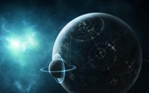 Una civilización alienígena. Fuente: Wallpaperup.com
