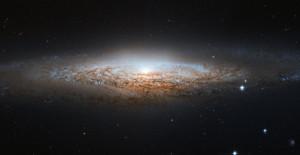 La galaxia espiral regular NGC 2.683 descubierta por (oh, sorpresa) William Herschel. Crédito: ESA/Hubble y NASA