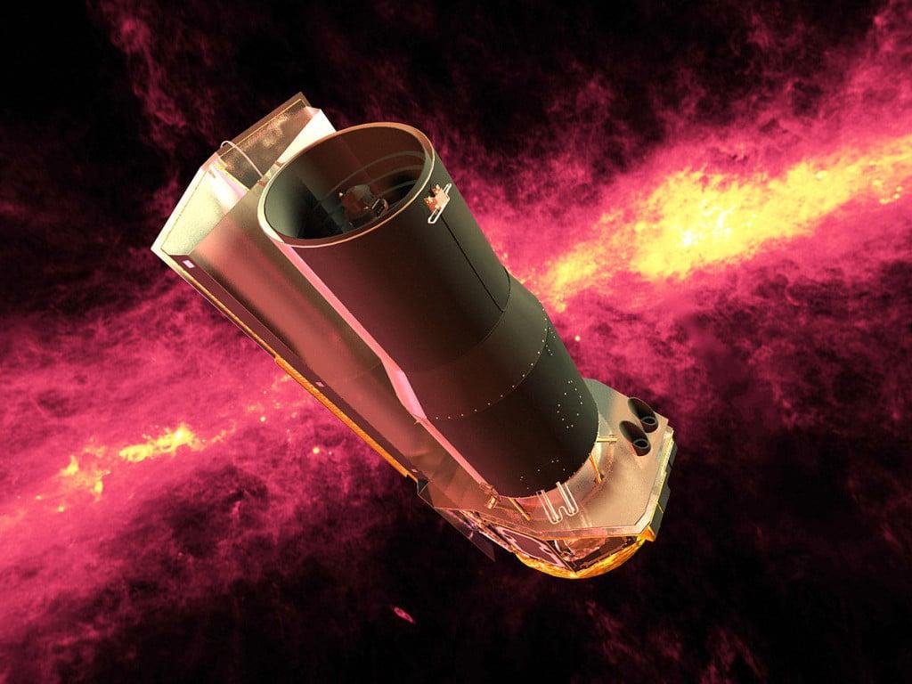 El telescopio Spitzer ha sido esencial para analizar la superficie de LHS 3844b