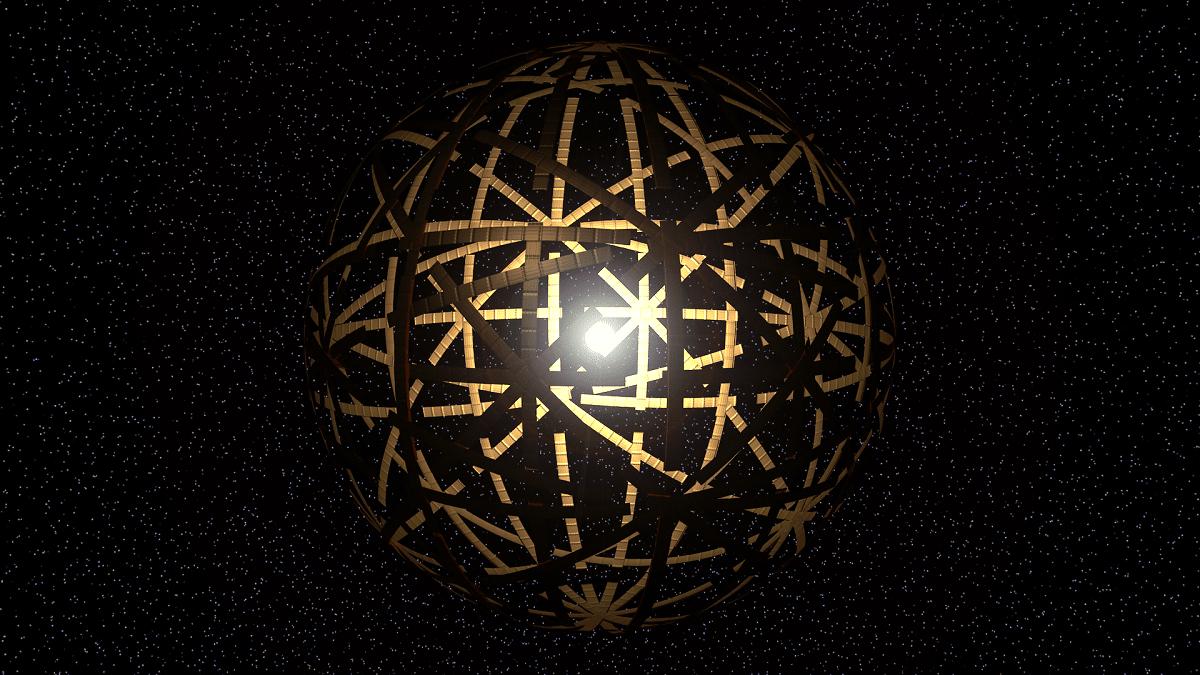 Usar una esfera de Dyson con un agujero negro