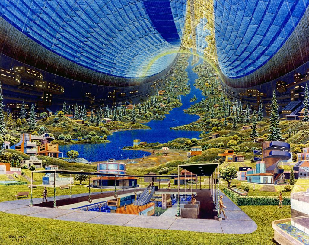 Una colonia espacial ampliable tendría capacidad hasta para 8000 personas.