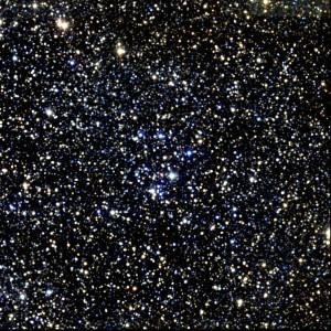 El cúmulo abierto M18. Crédito: Two Micron All Sky Survey (2MASS)