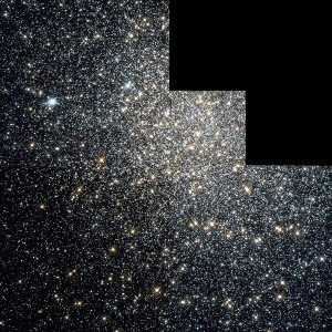 M19 observado por el telescopio Hubble. Crédito: NASA, STScI, WikiSky
