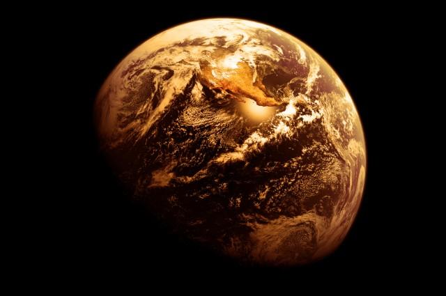 La Tierra fue naranja en el pasado