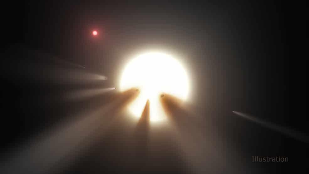 Reflexionando sobre el oscurecimiento de KIC 8462852