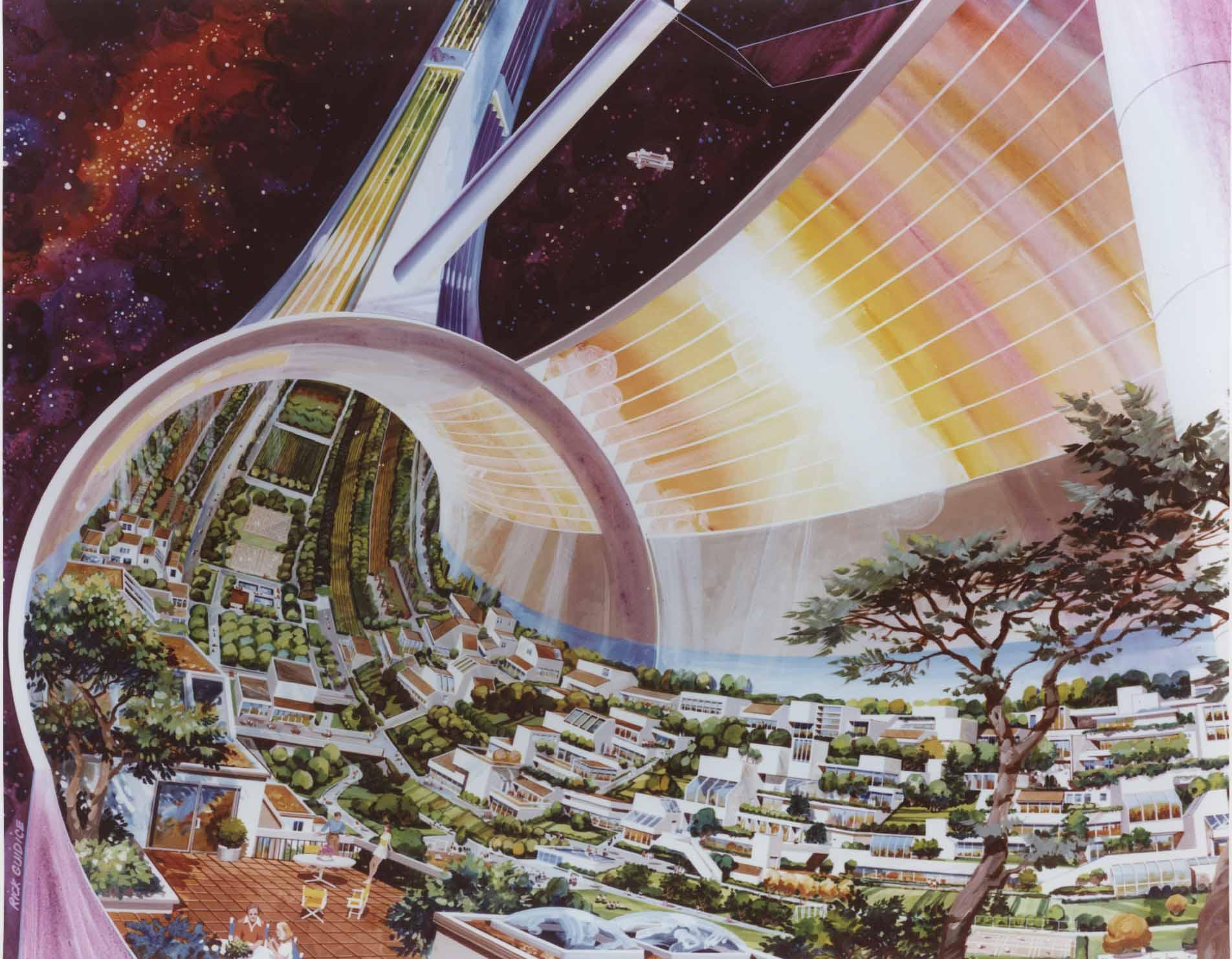 Una colonia orbital en Ceres para el ser humano
