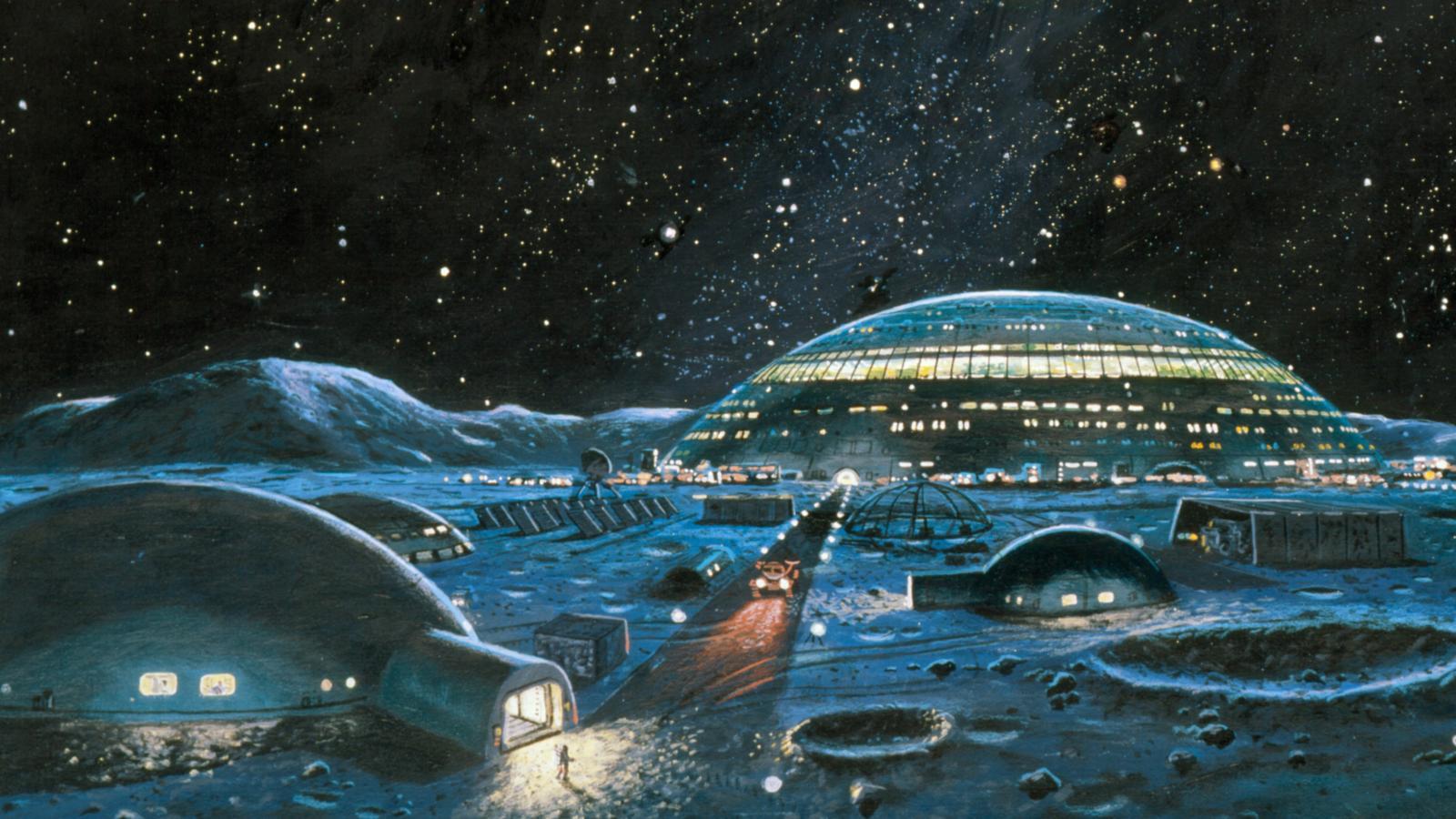 La NASA planea construir un campamento base lunar