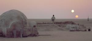 Tattoine, en el episodio IV de Star Wars. Crédito: Lucasfilm/20th Century Fox / The Kobal Collection
