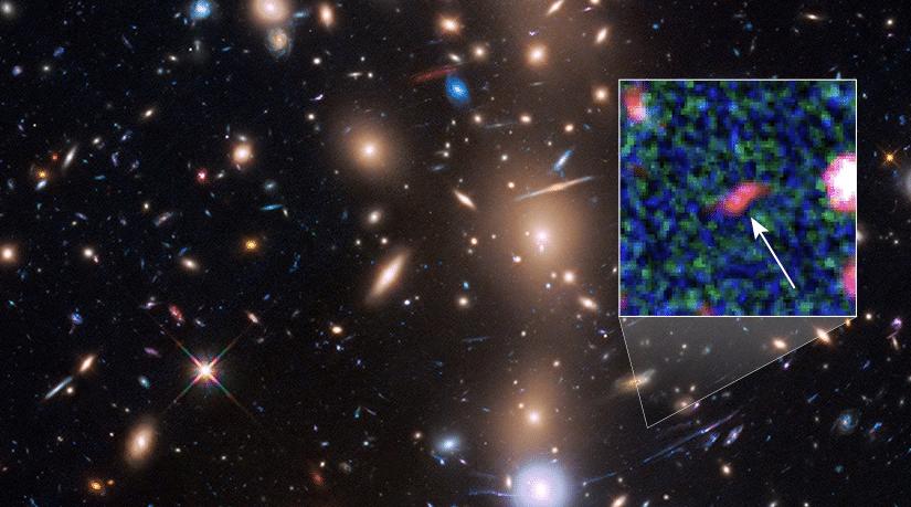 Tayna, la galaxia más tenue observada hasta el momento