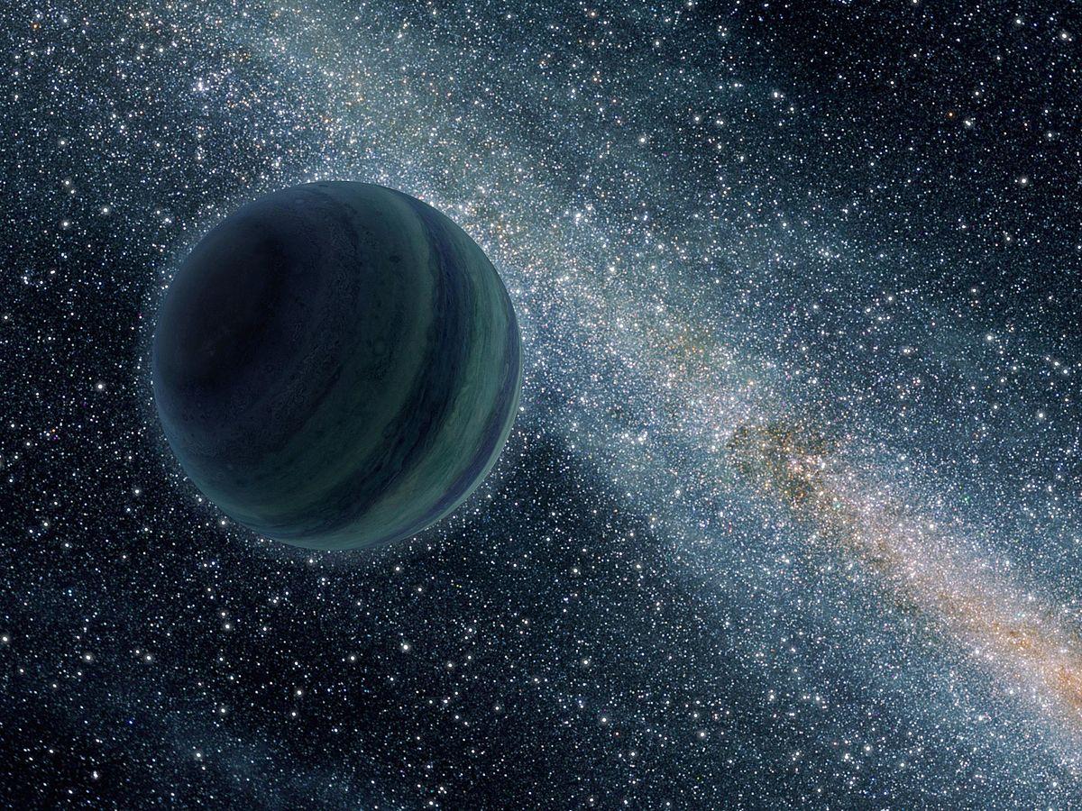 Descubren un planeta errante de la masa de la Tierra